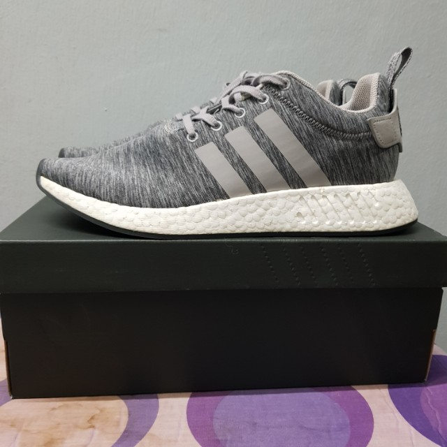 the latest 48f71 51a62 Adidas X SNS NMD R2 Melange Grey