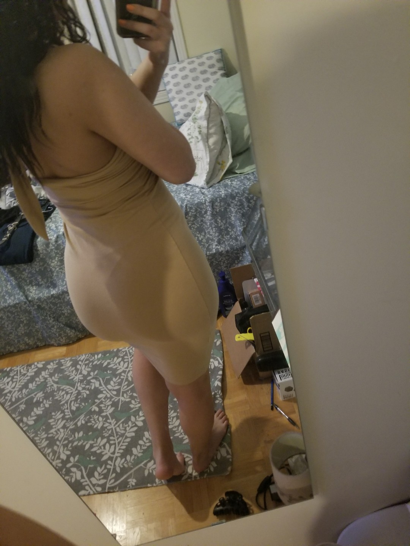 American Apparel nude dress