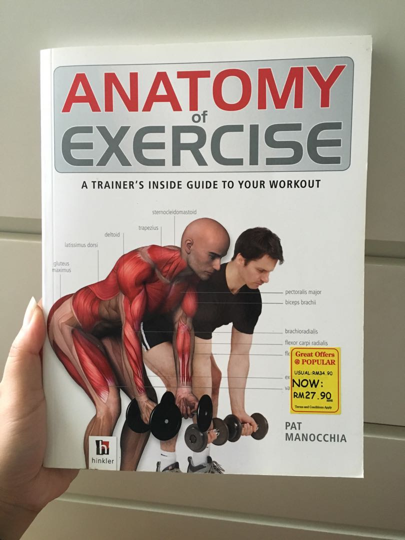 Anatomy of Exercise by Pat Manocchia, Books & Stationery, Fiction on ...