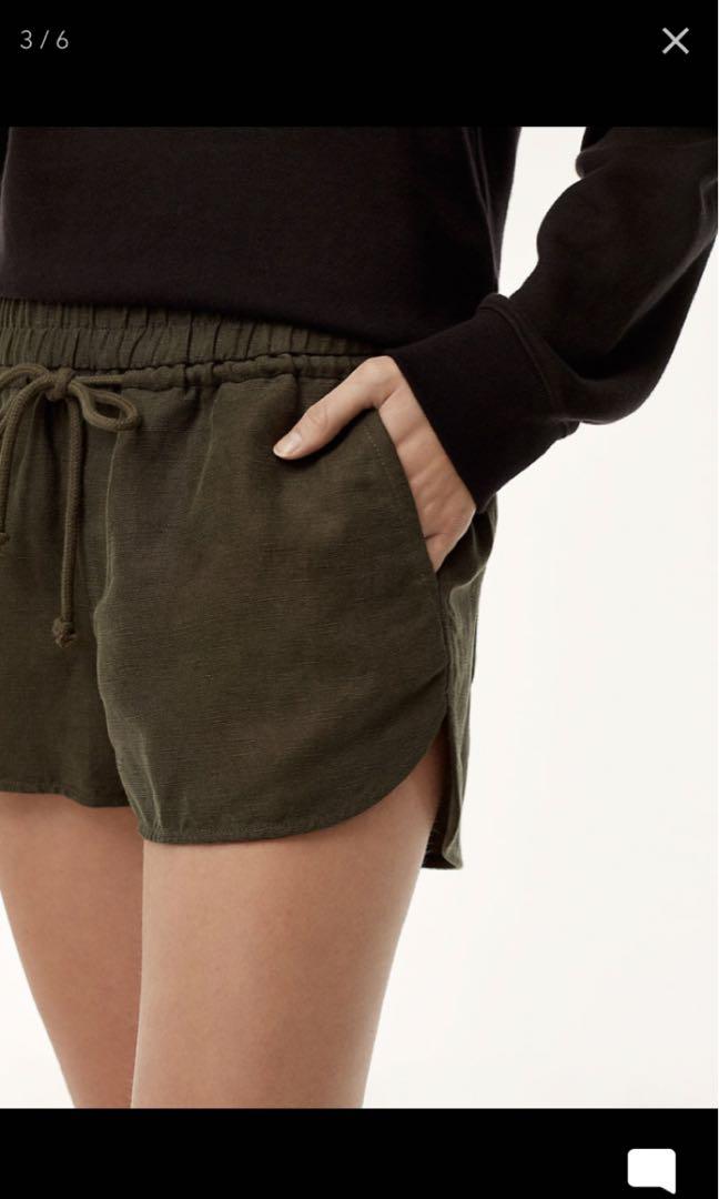 Aritzia Wilfred Free Habitus Shorts