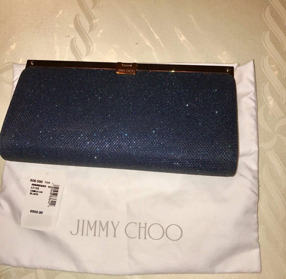💯Authentic Jimmy Choo Clutch