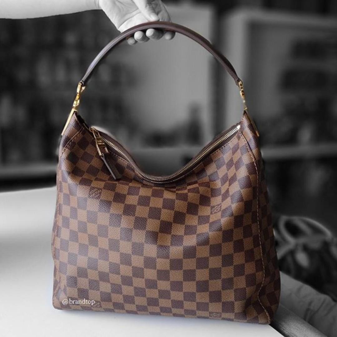 d7a701404965 Authentic Louis Vuitton Damier Ebene Portobello LV