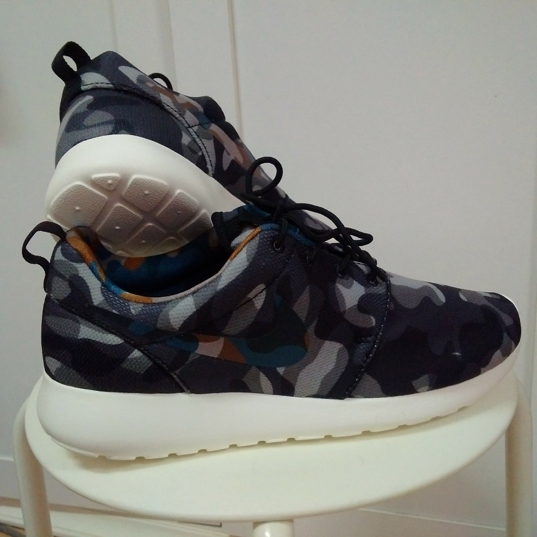 new concept 71b41 443ad Authentic Nike Roshe Camo US7.6, Men s Fashion, Footwear, Sneakers ...