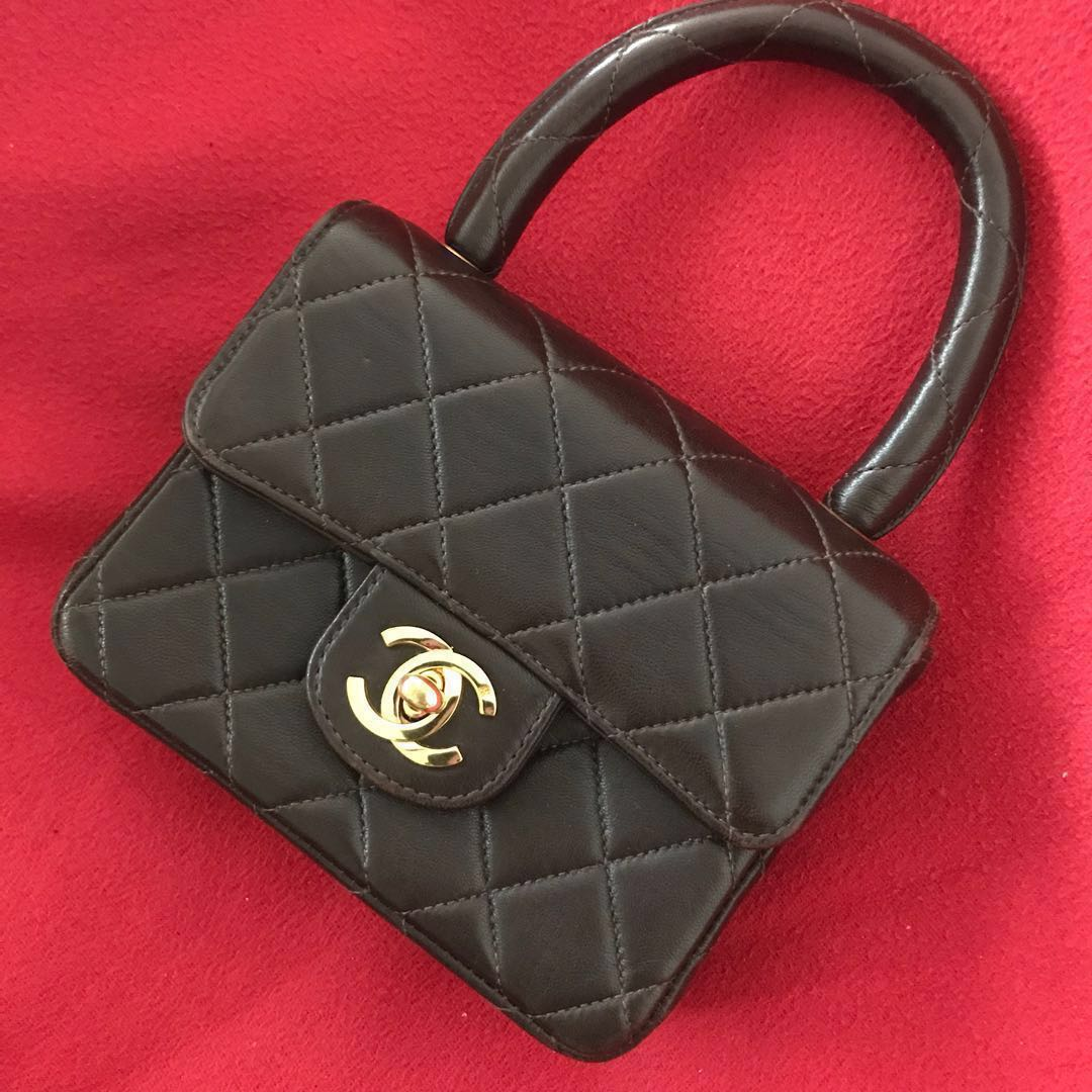 f697254b5749 Authentic Vintage Mini Chanel Kelly Bag, Luxury, Bags & Wallets on ...