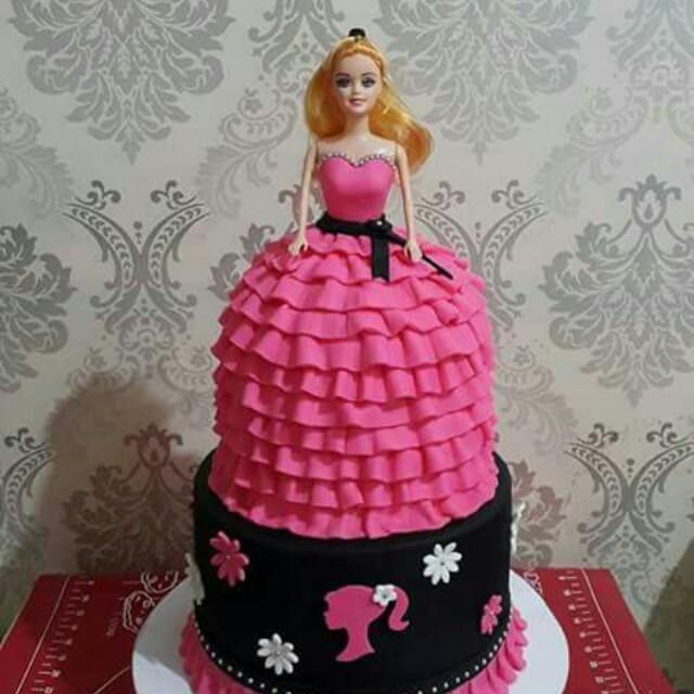 Barbie Cake Design Craft Handmade Goods Accessories On Carousell