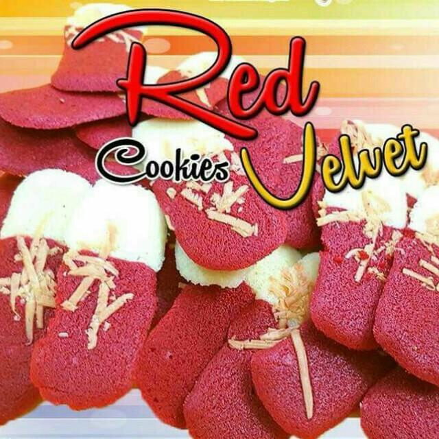 Biskut Lidah Kucing Red Velvet Cheese Food Drinks