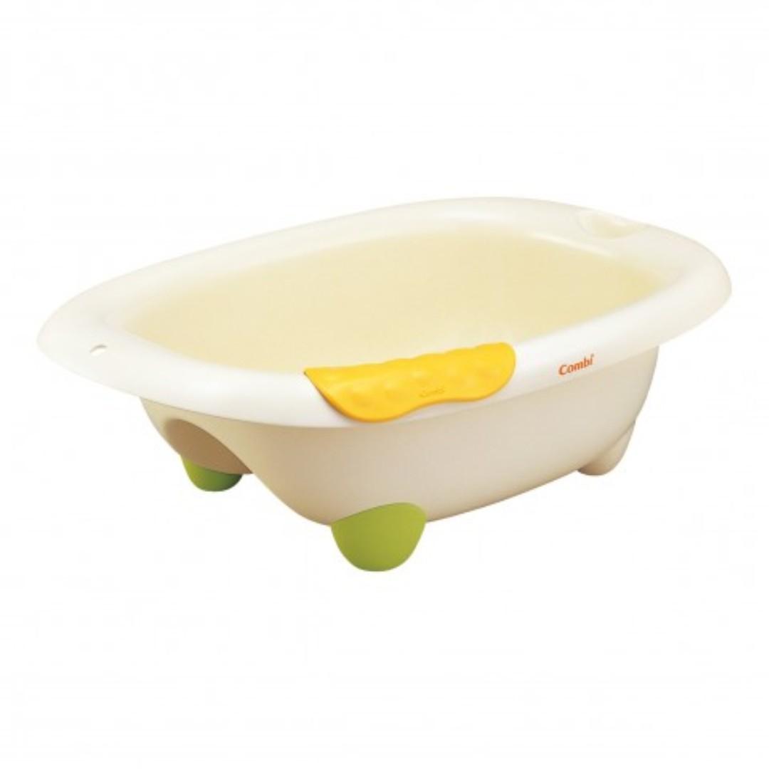 Blove 日本 Combi 嬰兒浴盆 BB沖涼盆 沐浴盆 洗澡盆 可摺 浴缸 嬰兒沐浴盆 #CB11B