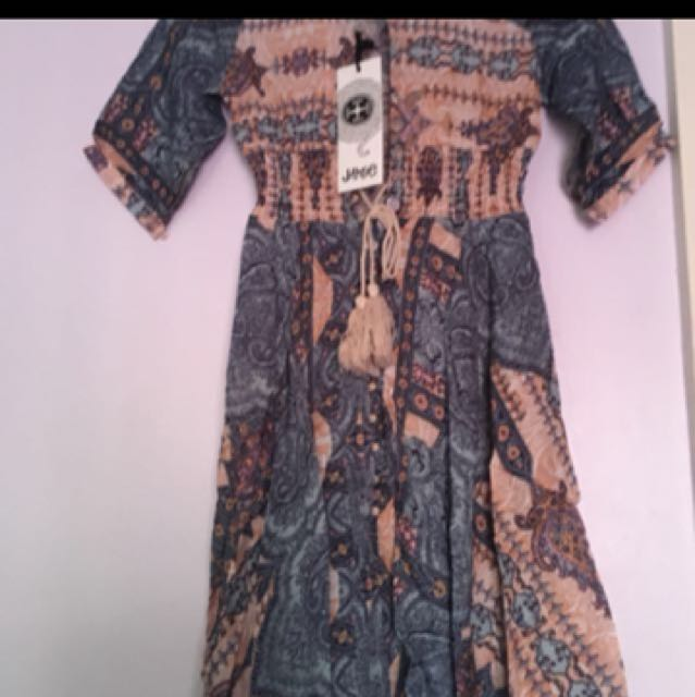 Boho Jaase maxi dress