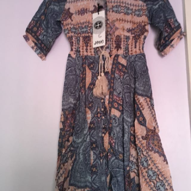Boho maxi dress by Jaase