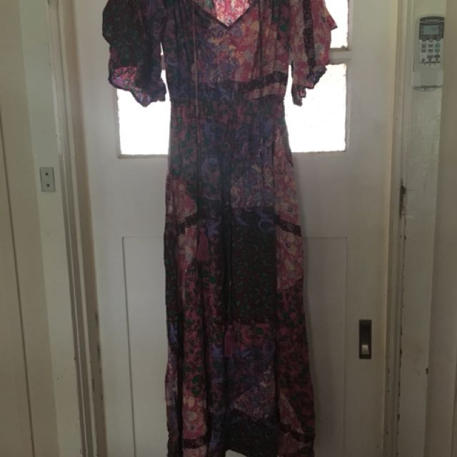 BooHoo boho maxi dress