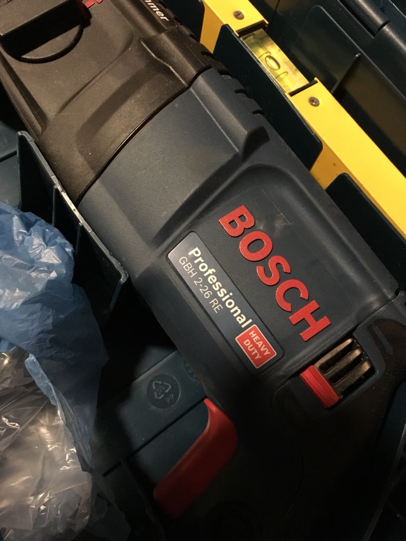 Bosch rotary hammer drill gbh 2-26re
