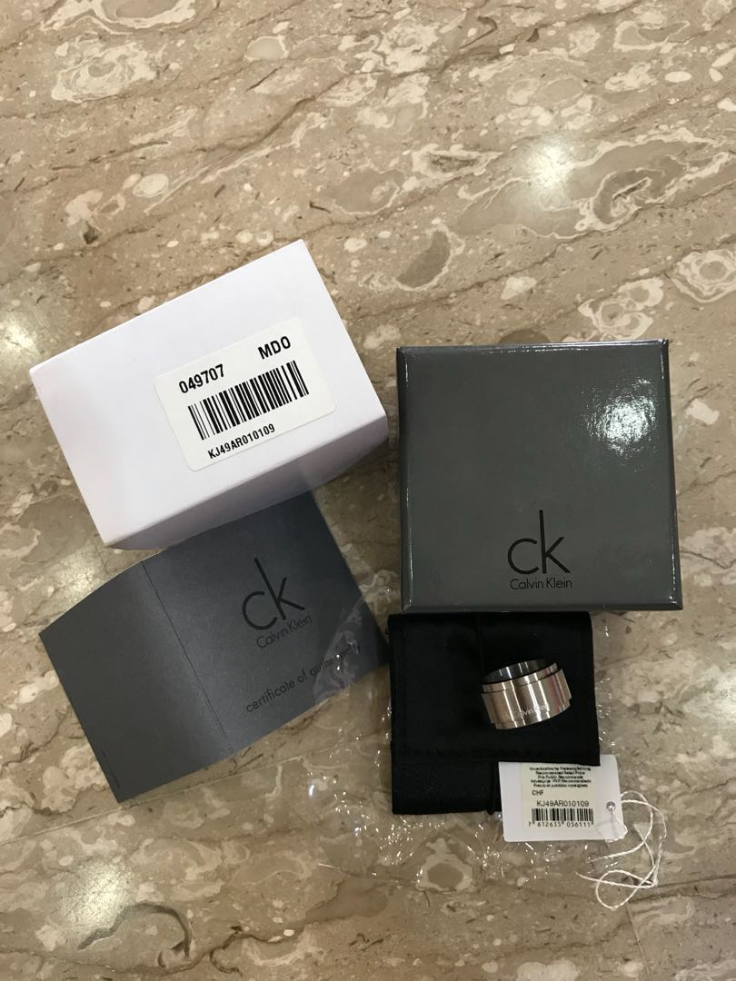 Calvin Klein Jewelry Strong Women s Ring KJ49AR010109 (Brand New ... 56f584f3997