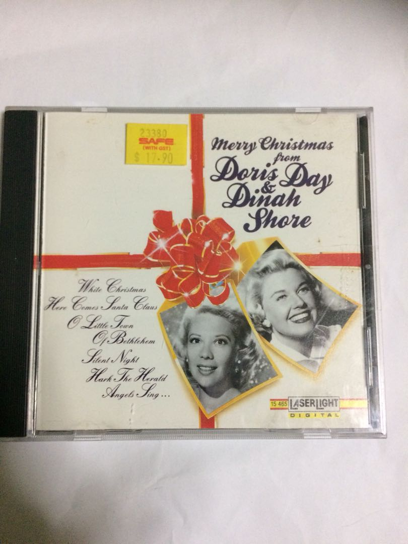 Cd 51 Doris Day & Dinah Shore, Old Christmas Songs