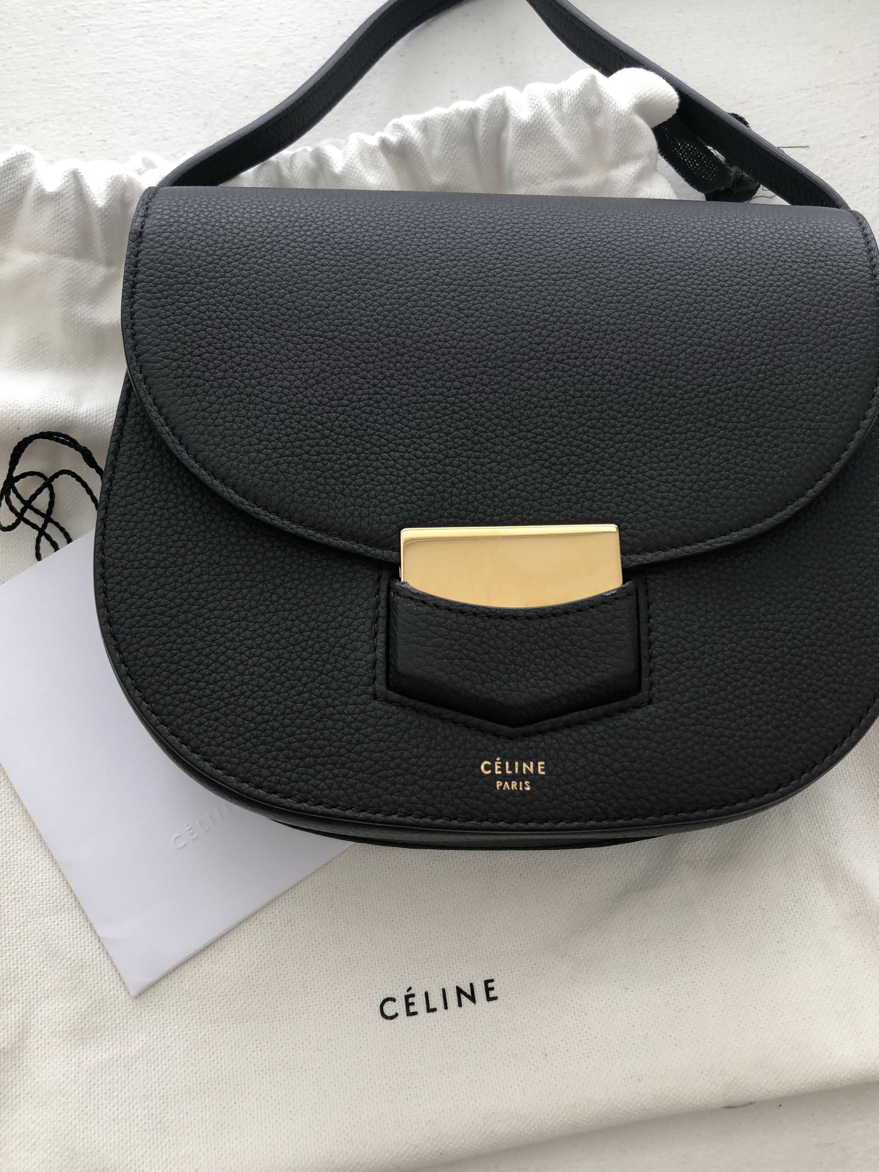 c59ddb226 Celine Small Trotteur bag, Women's Fashion, Bags & Wallets on Carousell