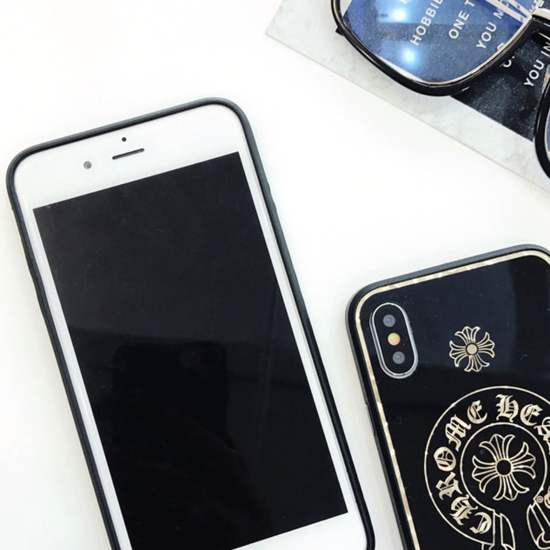 236006c6ea56 CH Chrome Hearts Inspired HP Cover Apple IPhone 6 6S 7 8 + X