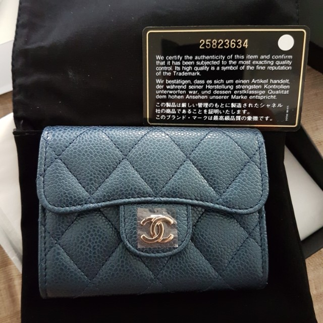 08682549cff4 Chanel XL Flap Cardholder Navy Blue Caviar 18S, Women's Fashion, Bags &  Wallets on Carousell