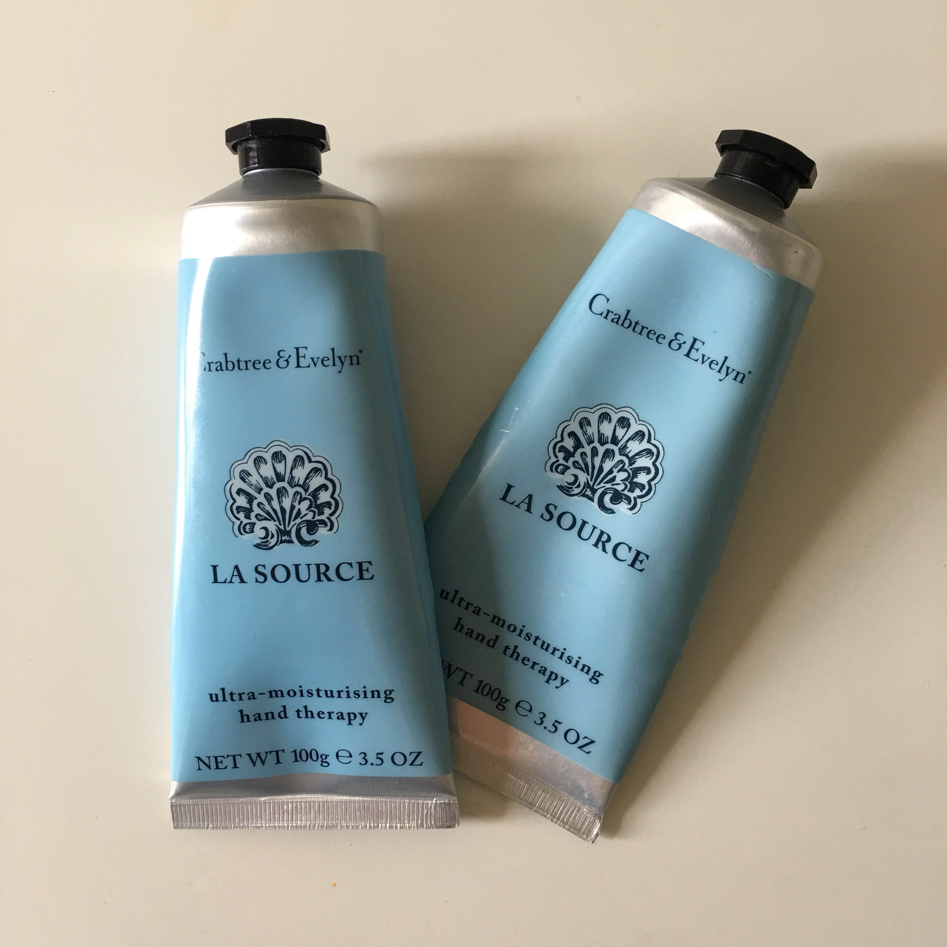 Crabtree & Evelyn hand cream full size x2