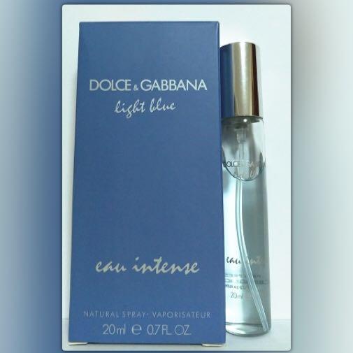 7d7398773d3a Carousell의 DOLCE & GABBANA LIGHT BLUE EAU INTENSE EAU DE PARFUM ...