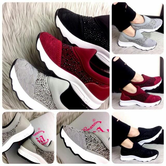 ELIZA BRAXTON SNEAKERS 6636-2  Sepatu Fashion Wanita Impor Murah ... 7d7177f33e