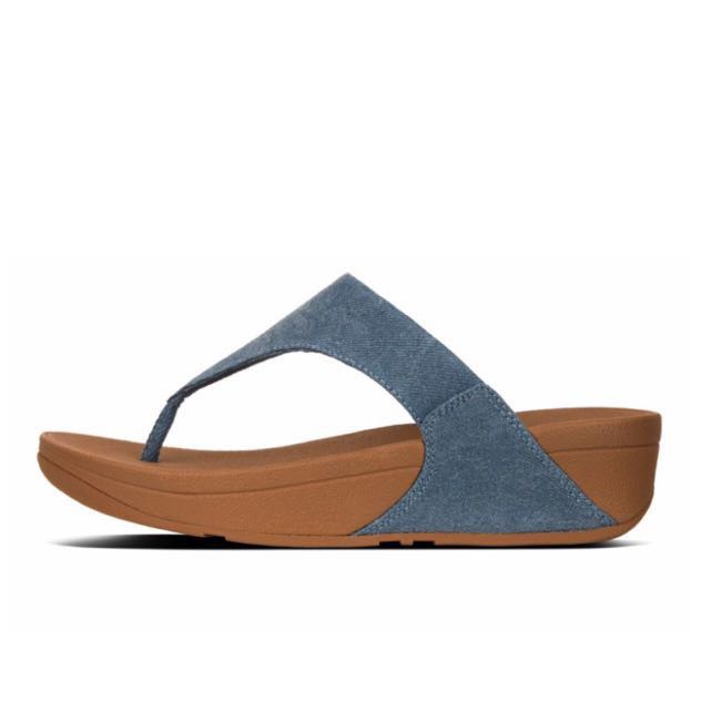 79545088fff0 FitFlop LULU™ Denim Toe-Thong Sandals