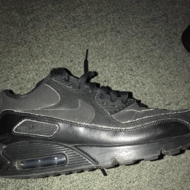 Full Black Nike Airmax 90's