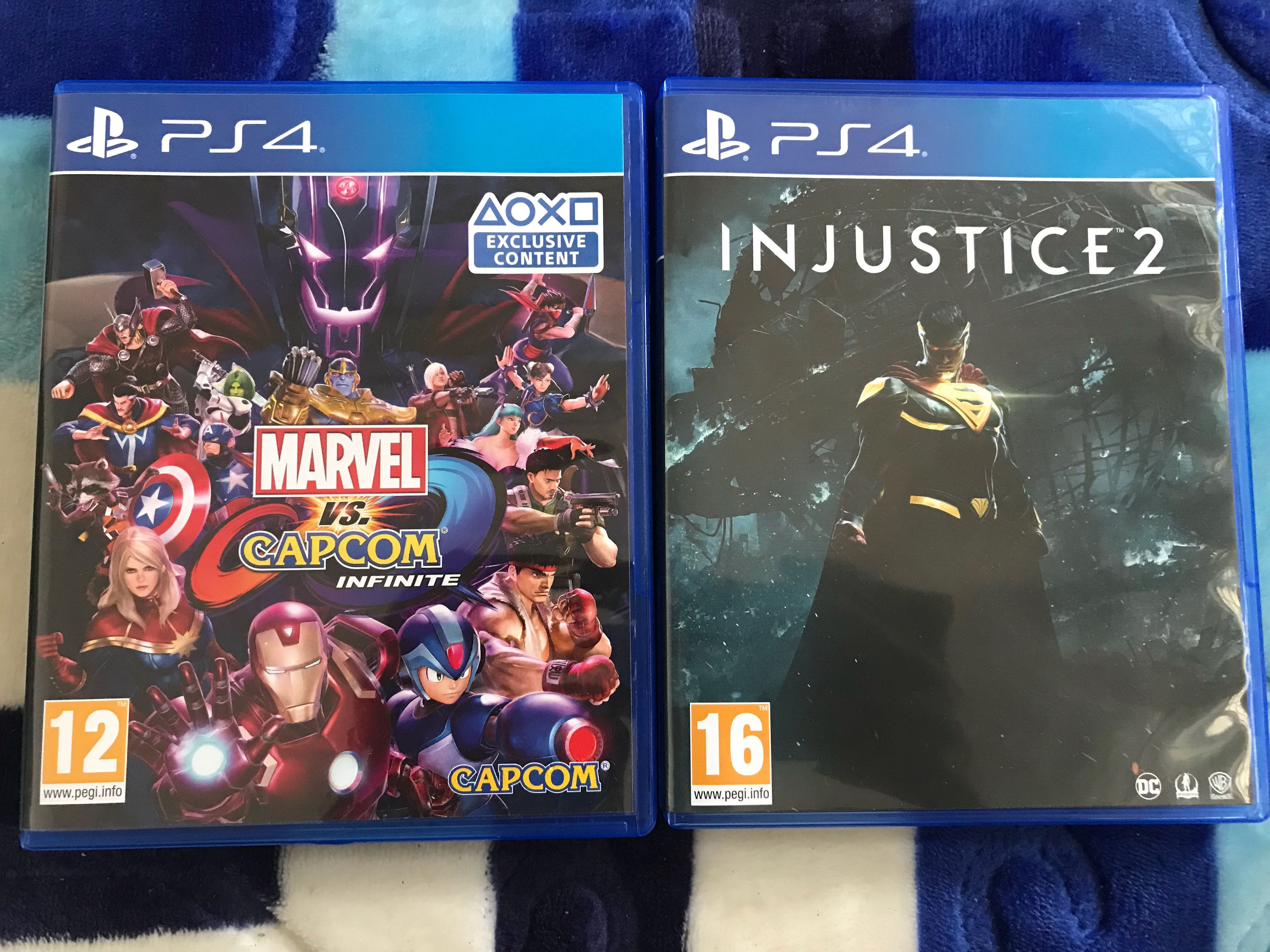 Game Ps4 Video Gaming Games On Carousell Sony Playstation Injustice 2 R3