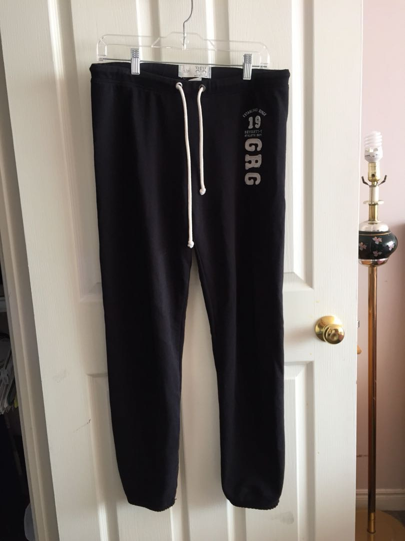 Garage women's size small black sweatpants