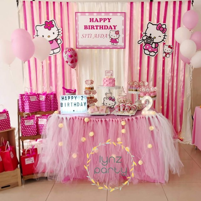 e64b0f39a Hello kitty birthday party set up, Design & Craft, Others on Carousell