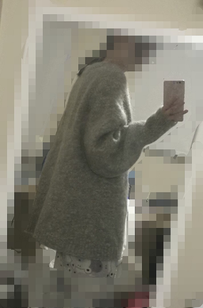 HM over sized sweater