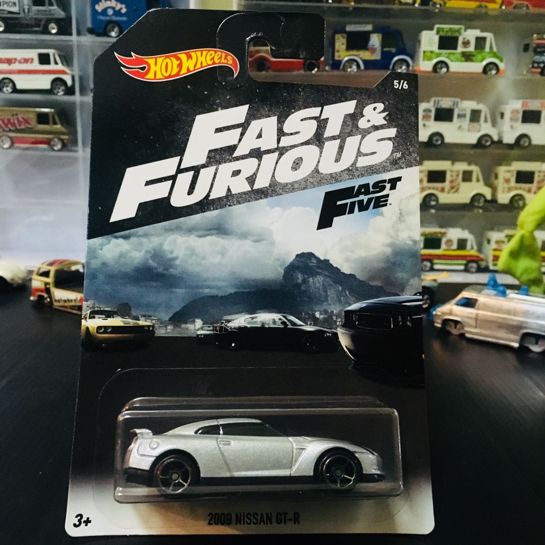 hotwheels fast furious nissan gtr r35 toys games. Black Bedroom Furniture Sets. Home Design Ideas