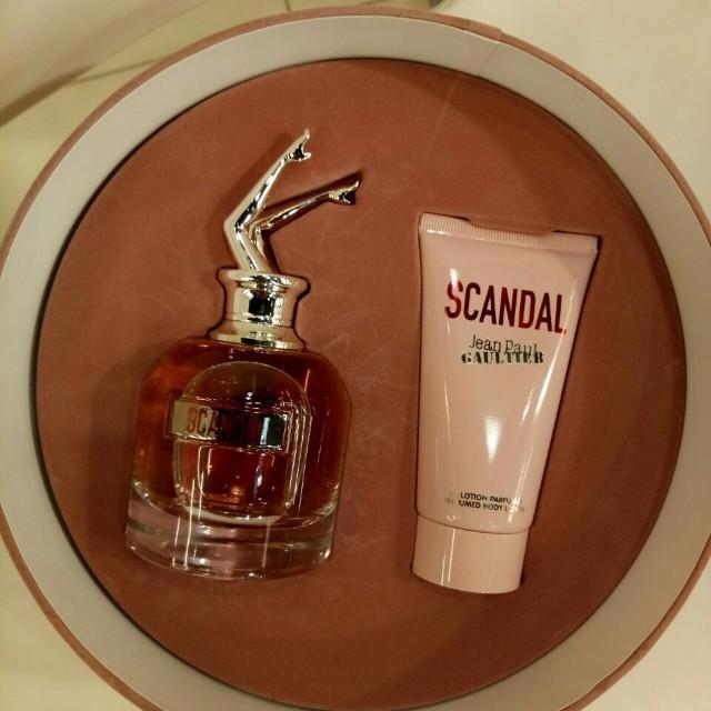 Jean Paul Gaultier Scandal Women Gift Set Health Beauty Perfumes