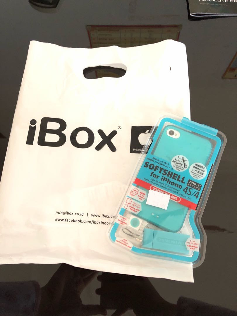 JUAL CASING SOFT SHELL FOR IPHONE 4/4s!!!