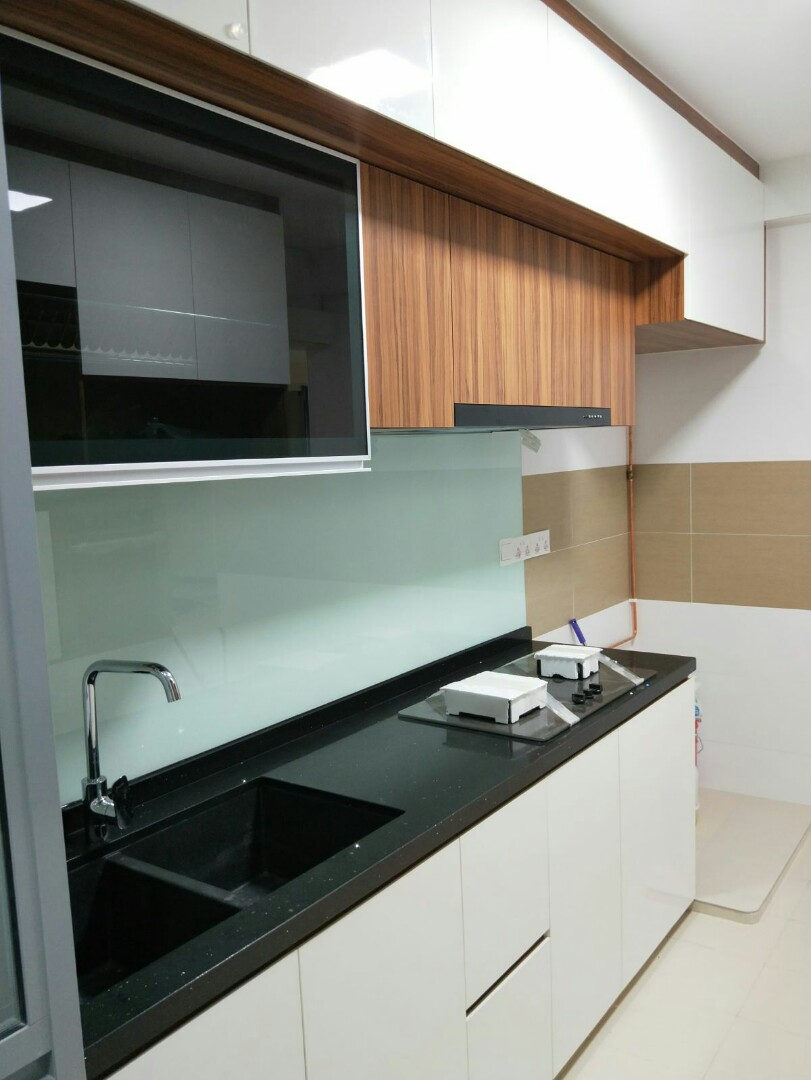 Kitchen cabinets and wardrobe., Furniture, Home Decor on Carousell