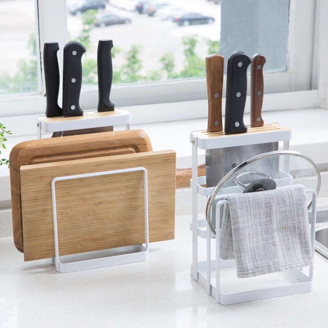 Knife Board Multi Holder Furniture Others On Carousell