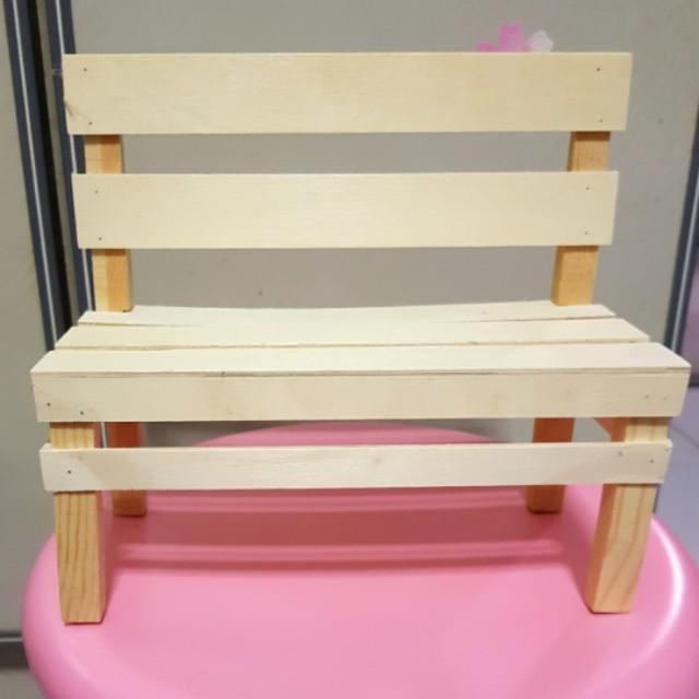 Mini Wooden Chairs For Decor Wedding Baby Shower Birthday