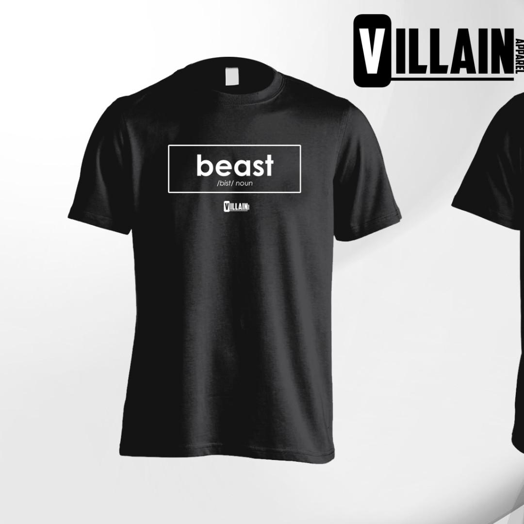 ec6fb8953 Minimalist BEAST T-Shirt (Fitness / street wear / athletic / gym ...