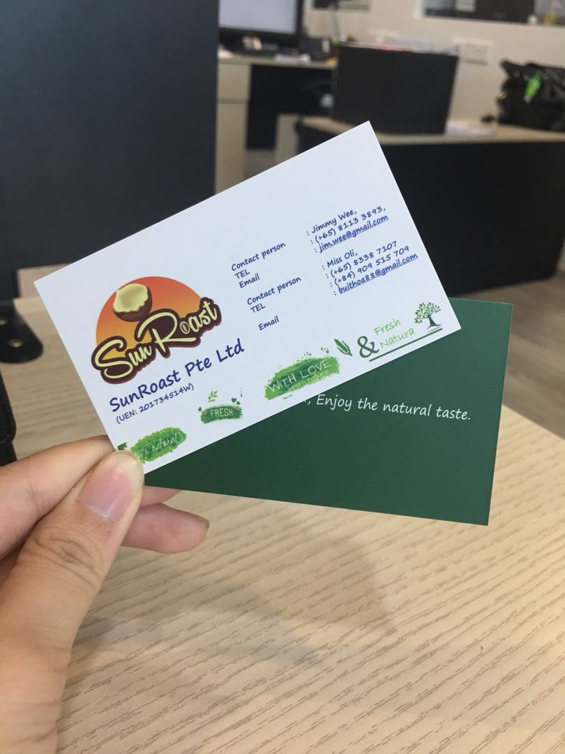 Name Card Printing Business Card, Design & Craft, Others on Carousell