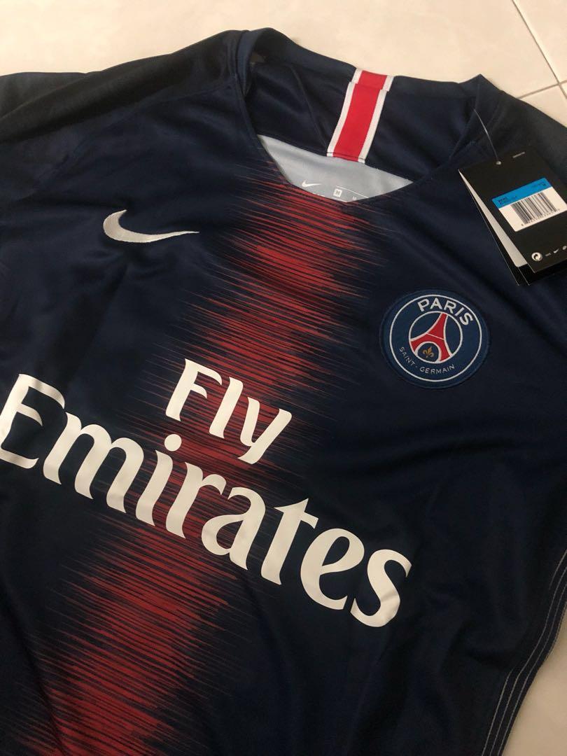 free shipping 7fd33 381e3 New 18/19 Season PSG Home Kit Jersey M Size Mbappe 29 ...