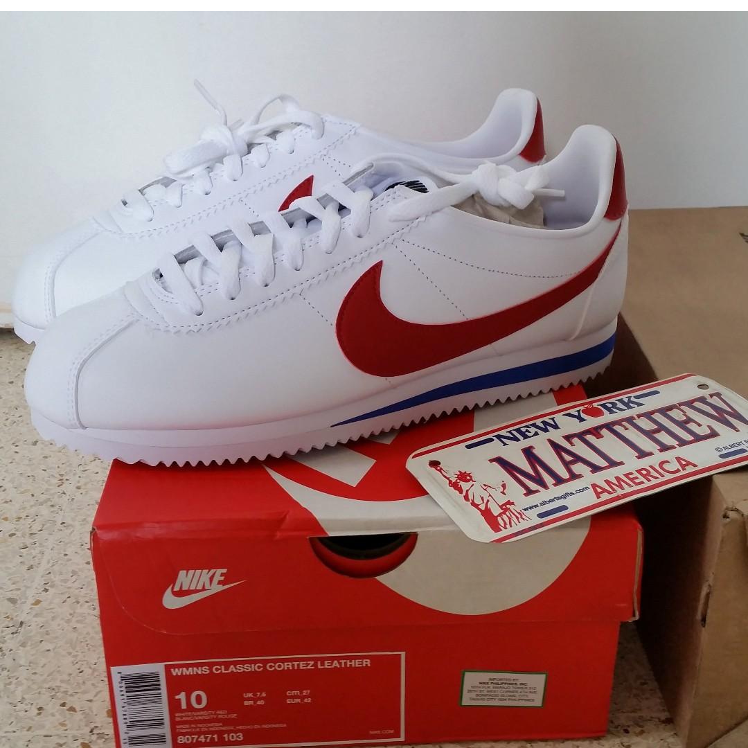 cfacc3572a1 Authentic Nike Classic Cortez Leather Forrest Gump CW