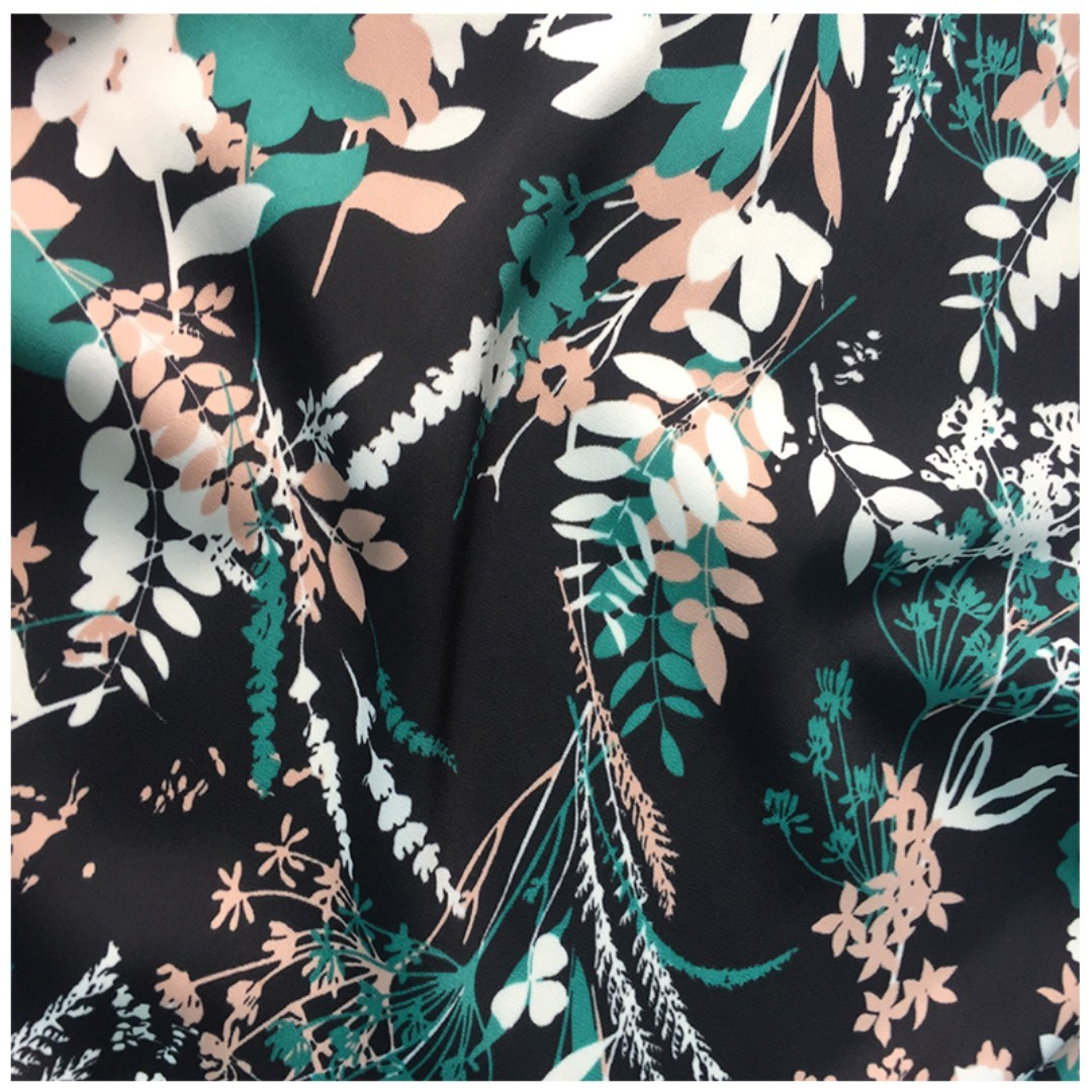 Premium High Quality Synthetic Silk Fabric 15m 60 X 35m Kain Baju Milea Kurung Womens Fashion Clothes Others On Carousell