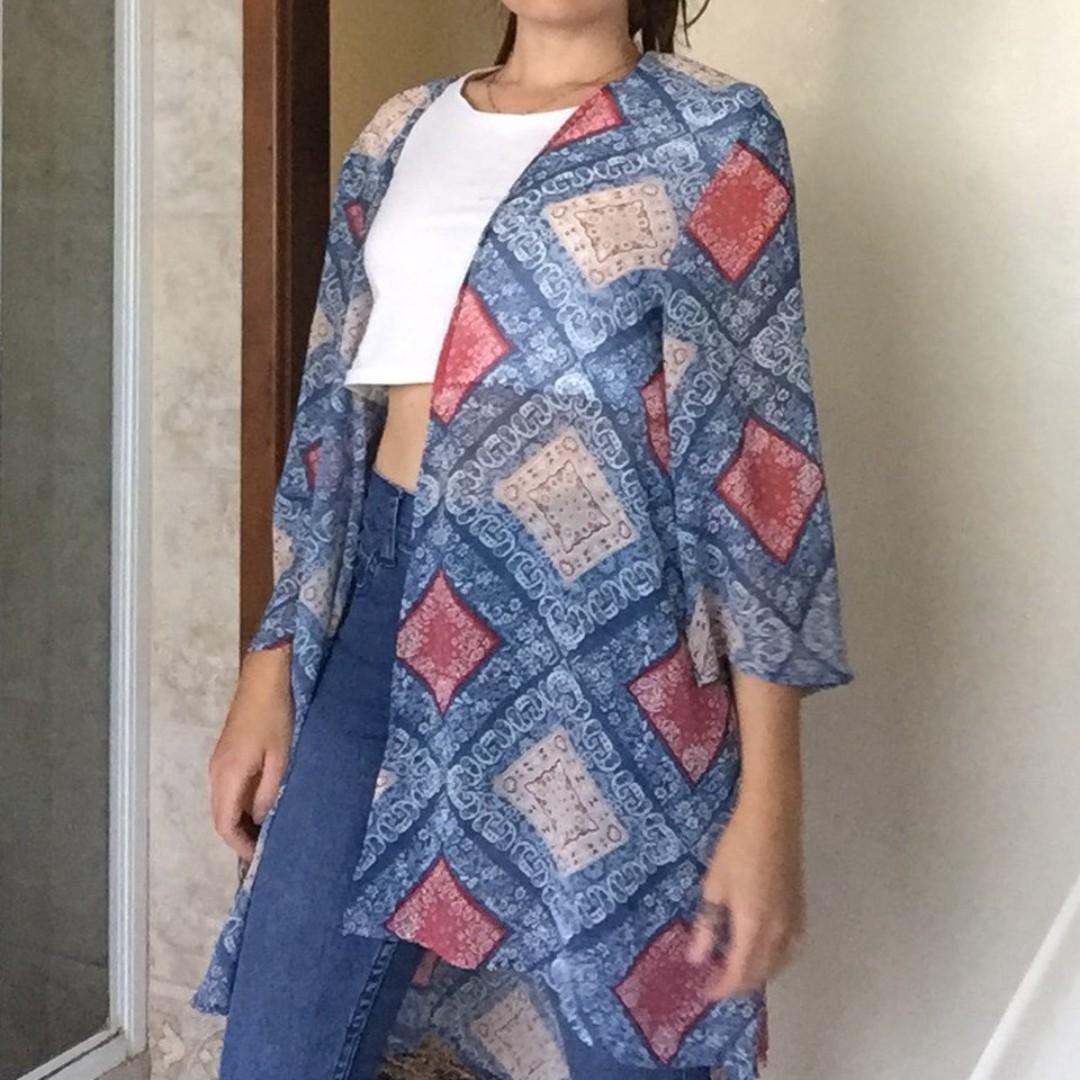 pretty kimono for Autumn, Spring and summer