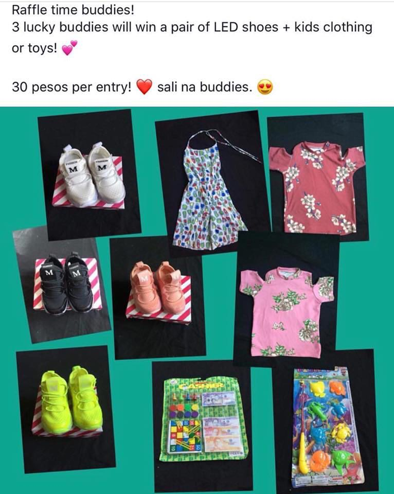 Raffle items for kids!