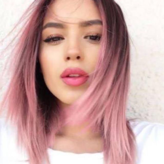 Red Violet Hair Color Dye Set Rose Gold Preloved Health