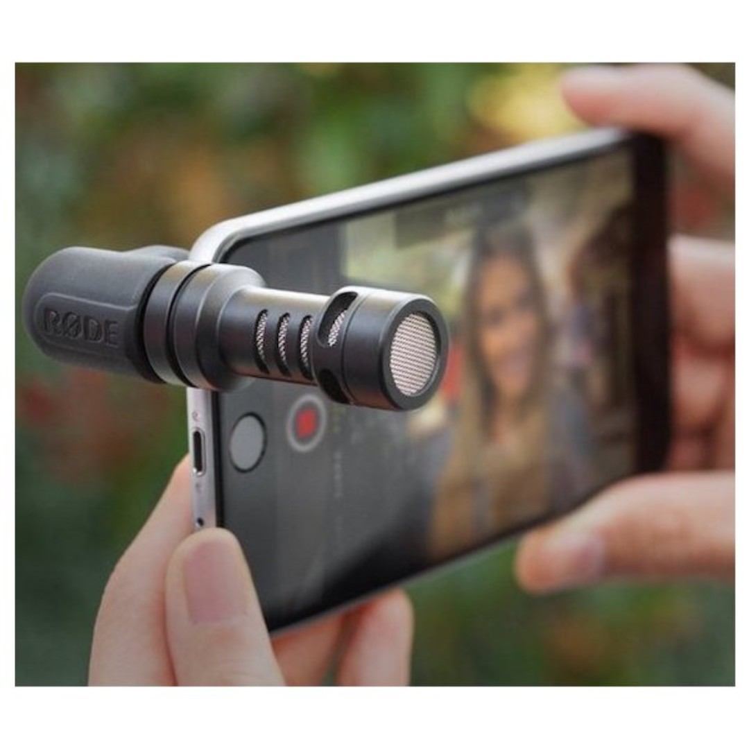 Rode Me Videomic Microphone For Iphone Samsung Phones Mobile Tablets Tablet Accessories On Carousell