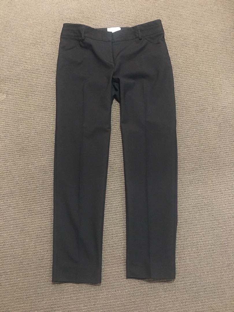Size 12 Veronica Maine Black Trousers worn twice