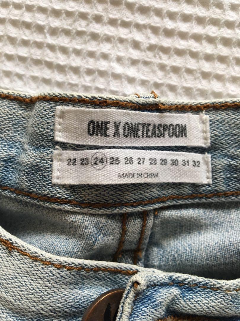 Size 24 Denim Shorts
