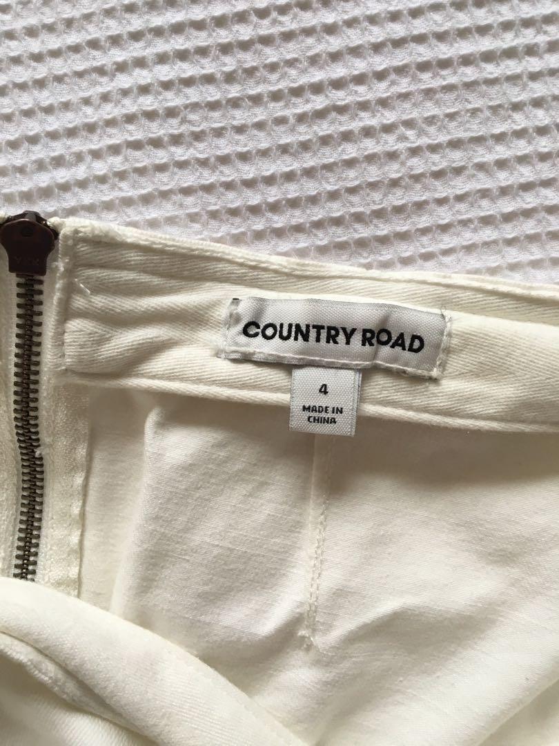 Size 4 White Skirt