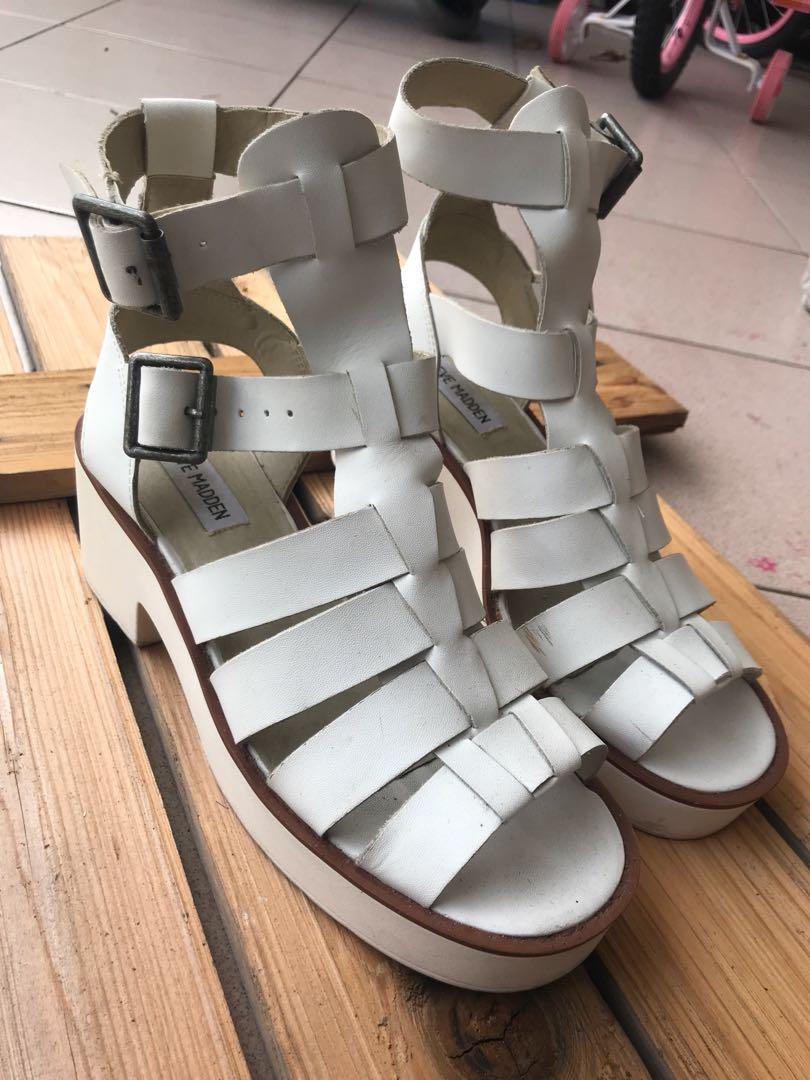 Steve Madden Leather Sandal Strap ( 💯 Authentic)
