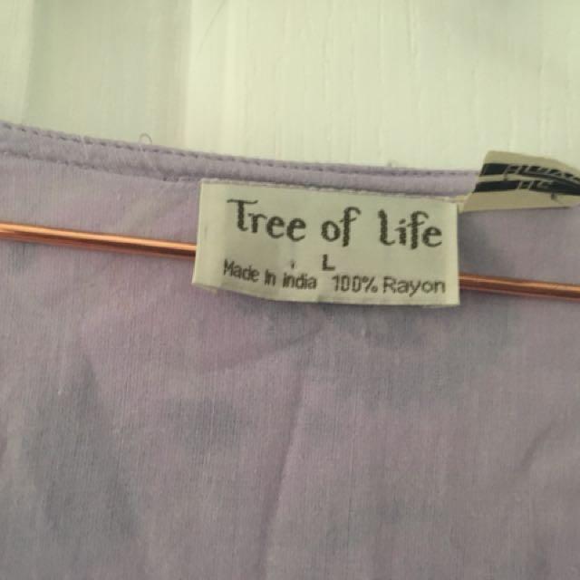 Tree of life maxi dress