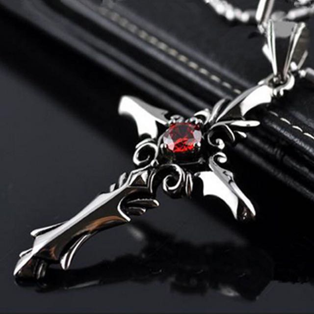 Trendy cool cross necklace gift for himboyfriendboyguymalemen photo photo photo aloadofball Images